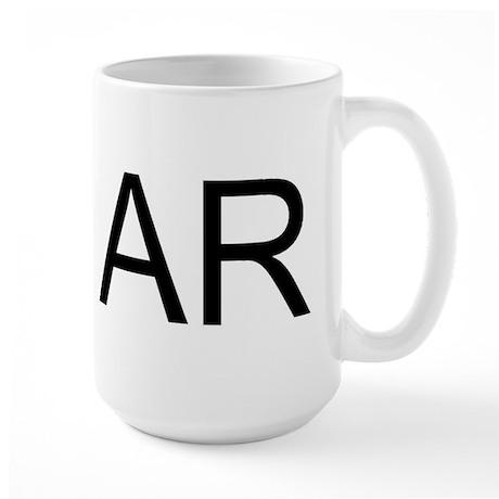 AR - ARKANSAS Large Mug