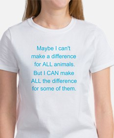 Make a difference! Tee