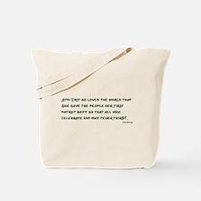 Irish 3:17 Reading Tote Bag