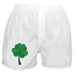 4 leaf clover - Boxer Shorts