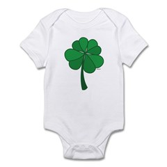 4 leaf clover - Infant Bodysuit