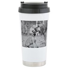 Boxer and Bloodhound Travel Mug
