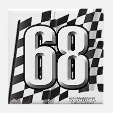 Flag No. 68 Tile Coaster