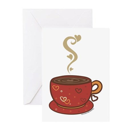 Coffee Love Greeting Cards (Pk of 10)