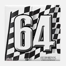 Flag No. 64 Tile Coaster