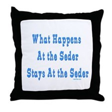 Seder Passover Throw Pillow