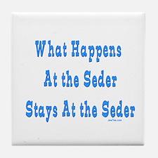 Seder Passover Tile Coaster
