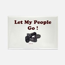 Let People Go Passover Rectangle Magnet