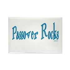 Passover Rocks Rectangle Magnet