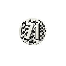 Flag No. 71 Mini Button