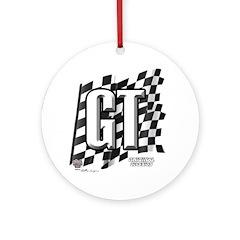 Flag No.GT Ornament (Round)