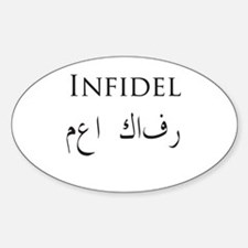 Infidel Forever Decal