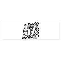 Flag No. 57 Sticker (Bumper 10 pk)