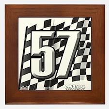 Flag No. 57 Framed Tile