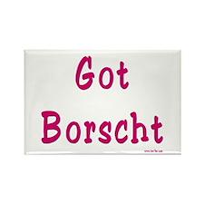 Got Borscht Passover Rectangle Magnet