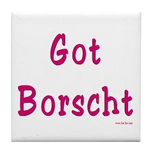 Got Borscht Passover Tile Coaster
