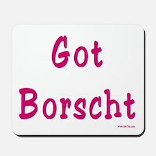 Got Borscht Passover Mousepad