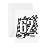 Flag No. 62 Greeting Cards (Pk of 20)