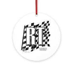 Flag No. RT Ornament (Round)
