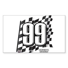 Flag No. 99 Decal