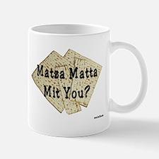 Matza Matta Mit You Passover Mug