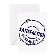 Satisfaction Greeting Card