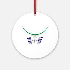 """ISS Dawn"" Ornament (Round)"