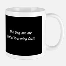 Gobal Warming Data Mug