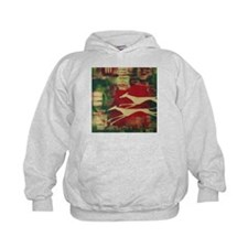 Red/Gold Greyts Hoody