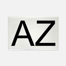 AZ - ARIZONA Rectangle Magnet