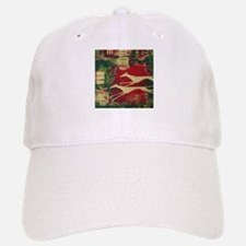 Red/Gold Greyts Baseball Baseball Cap