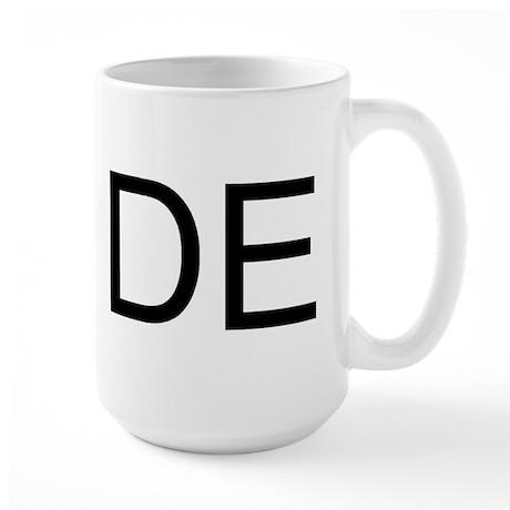 DE - DELAWARE Large Mug