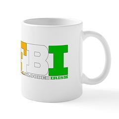 FBI FULL BLOODED IRISH Mug
