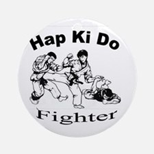 HapKiDo Fighter Ornament (Round)