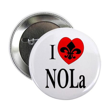 "I Love Nola 2.25"" Button (10 pack)"