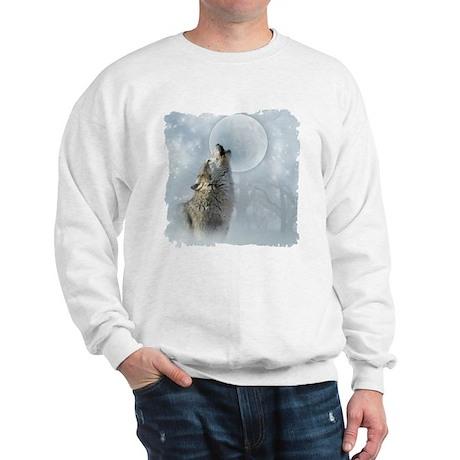 Wolf Blue Moon Sweatshirt