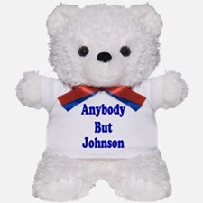 Anybody But Johnson Teddy Bear