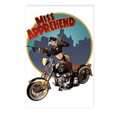 Cool Military pinup Postcards (Package of 8)
