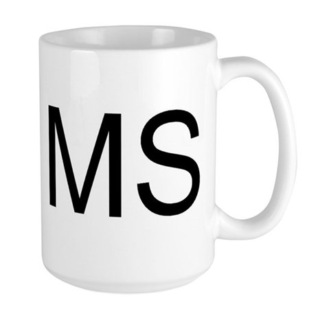 MS - MISSISSIPPI Large Mug