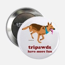 "Tripawds Have More Fun 2.25"" Button (10 pack)"