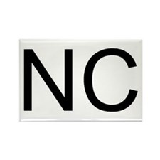 NC - NORTH CAROLINA Rectangle Magnet (10 pack)