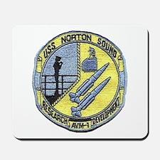 USS NORTON SOUND Mousepad