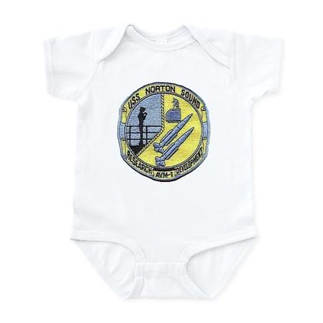 USS NORTON SOUND Infant Bodysuit