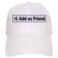 Add as Friend Baseball Cap