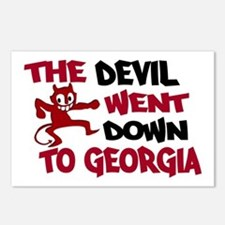 The Devil Went Down to Georgi Postcards (Package o