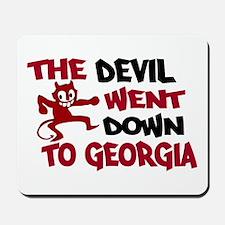 The Devil Went Down to Georgi Mousepad