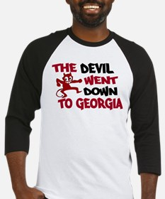 The Devil Went Down to Georgi Baseball Jersey