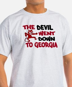 The Devil Went Down to Georgi T-Shirt
