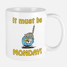Funny Monday Cat Mug