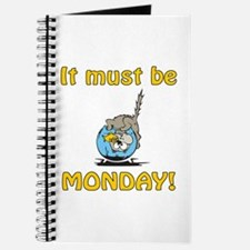 Funny Monday Cat Journal